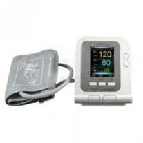 CMS-08A Upper Arm Blood Pressure and Blood Oxygen Monitor